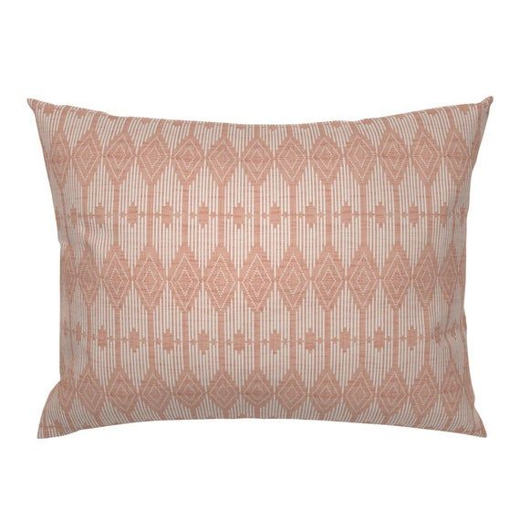 Boho Pillow Sham West End Pink And
