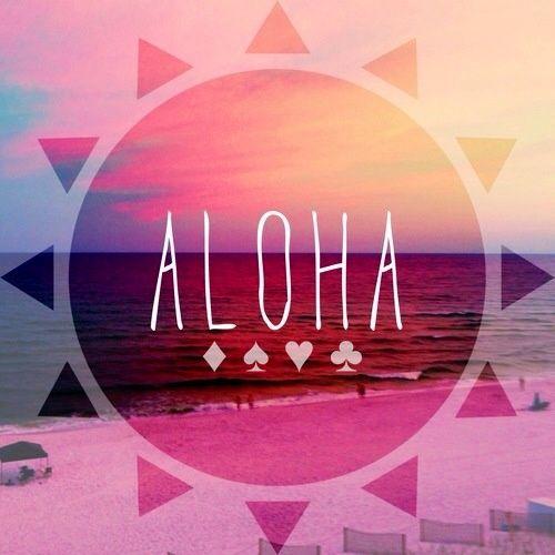 Aloha Friday...