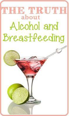 Drinking Beer Then Breastfeeding