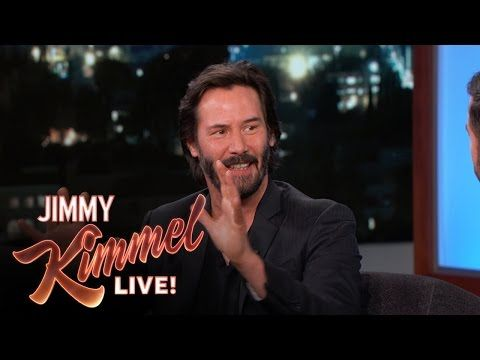 Keanu Reeves told Jimmy Kimmel about the sex scene with Eli Roth's wife
