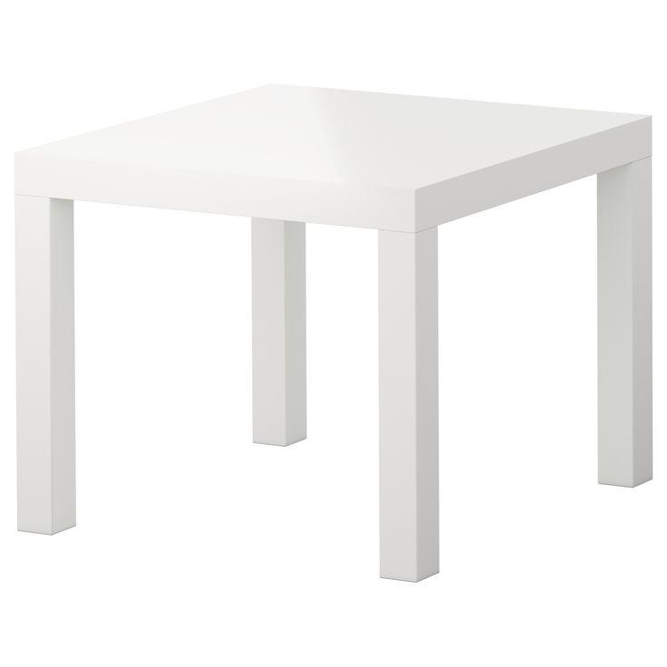 """:: End/Project Tables    LACK Side table - high gloss white, 21 5/8x21 5/8 """" - IKEA"""