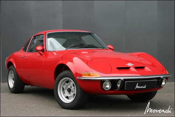 Opel GT (poorman's Vette)  I drove one just like this!