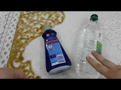 Halı Temizliğinde Beyaz Sirke Ve Karbonat Bulaşık Makinesi