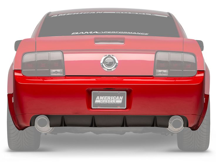 Mustang Gt500 Cs Rear Bumper Cover W Diffuser Unpainted 05 09 All Free Shipping Mustang Gt500 Gt500 Mustang