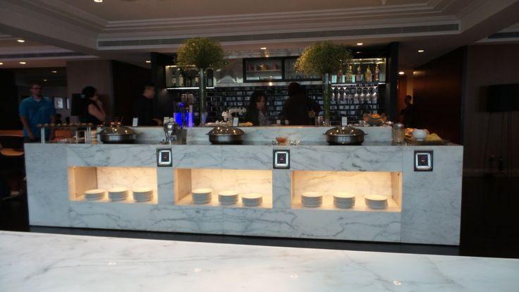 Executive Lounge at the Hilton Singapore