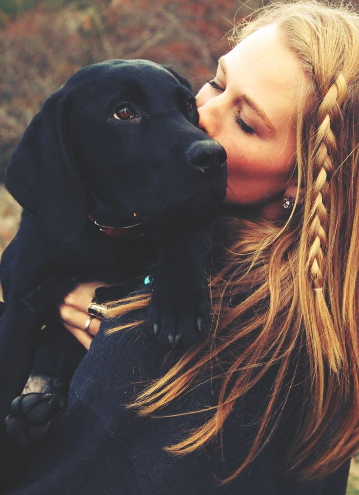 LOVE, LOVE, LOVE!!! Puppies, braids, fall leaves.......a few of my favorite things!!! <3