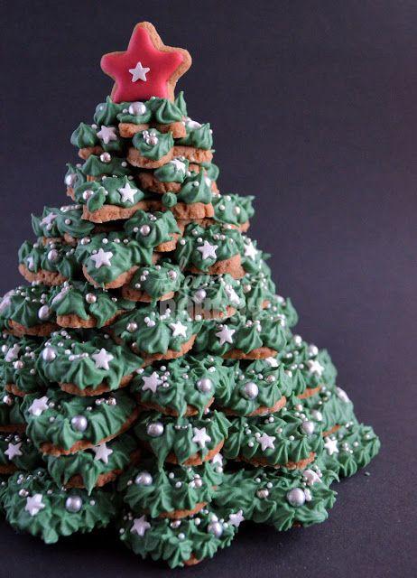 Koekjes kerstboom - Laura's Bakery