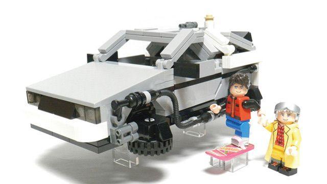 Lego Back to the Future Set, via Luca Annunziata