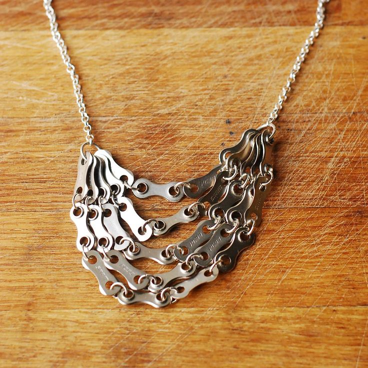 Number 1 Stunner Bike Chain Necklace - Keen Cyclists - Personality - Christmas Gift Guide - The Lost Lanes