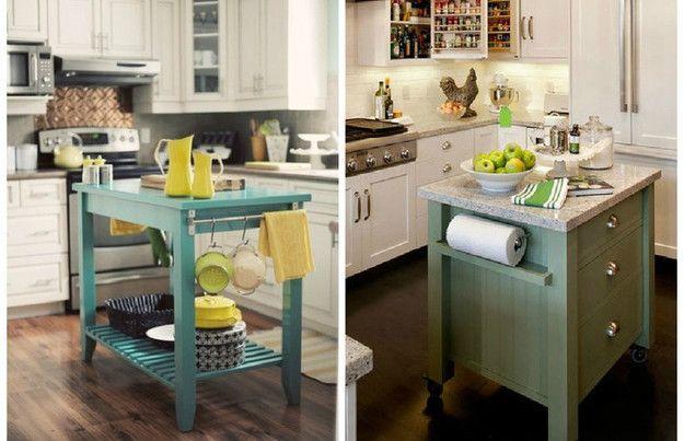 Как выжать максимум из маленькой кухни: 10 крутых идей
