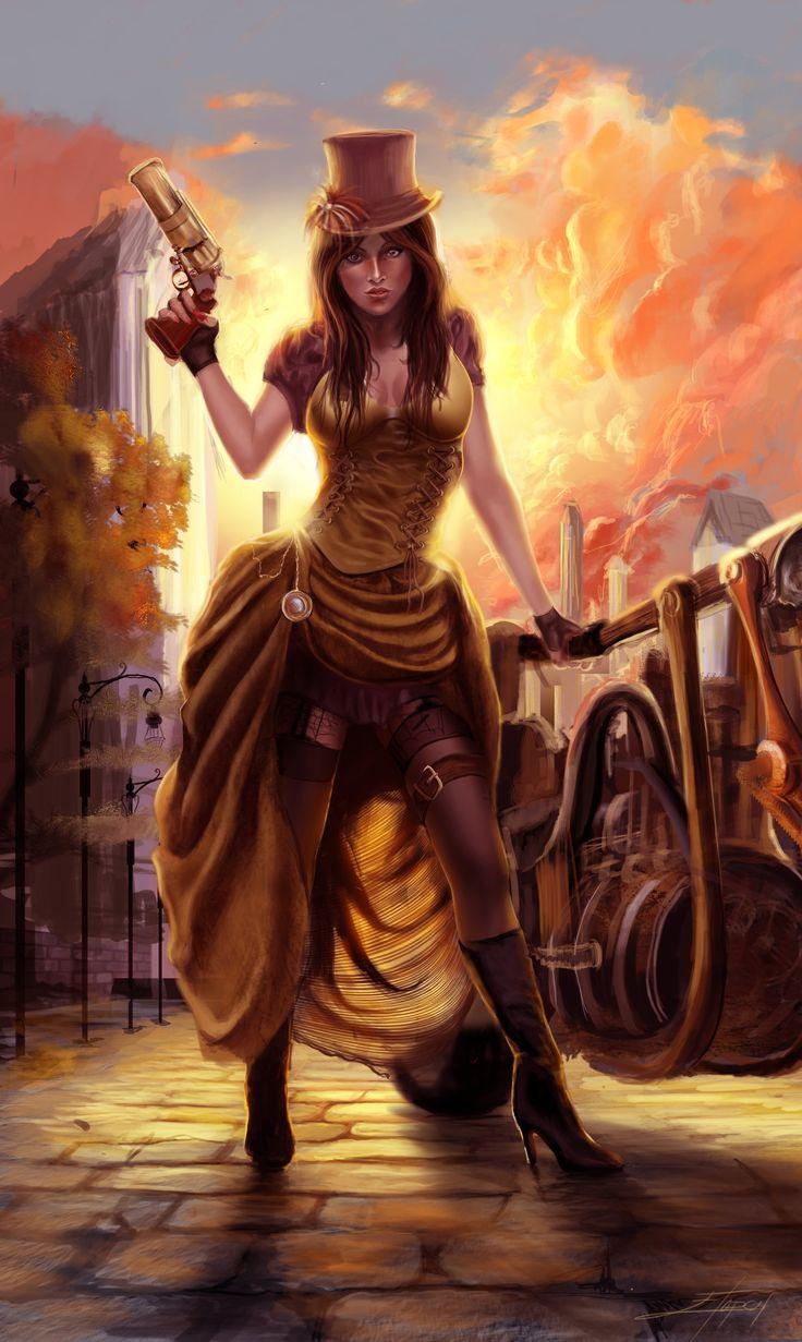 Steam Lady by etopcu.deviantart.com on @deviantART