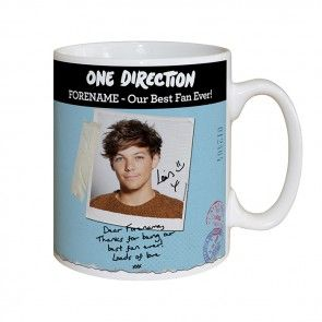 Louis Tomlinson mug gift from One Direction 1D