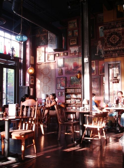 My Bohemian Lifestyle  Most fabulous coffee house ever? Sure looks like it!  interioralchemy:    (via verhext)
