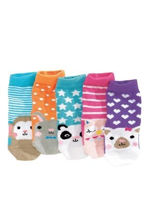 Buy Bright Character Socks Five Pack (Younger Girls) from the Next UK online shop
