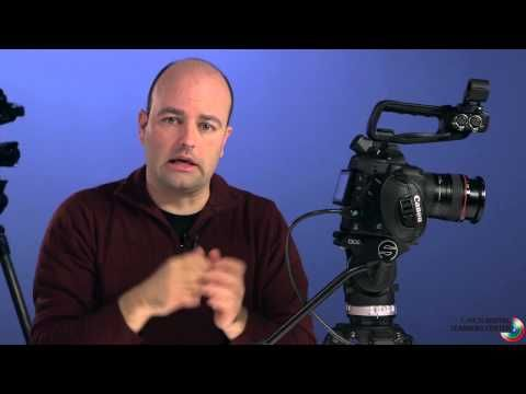 ▶ Setting up the EOS C100 for Shooting, Part 1 - YouTube