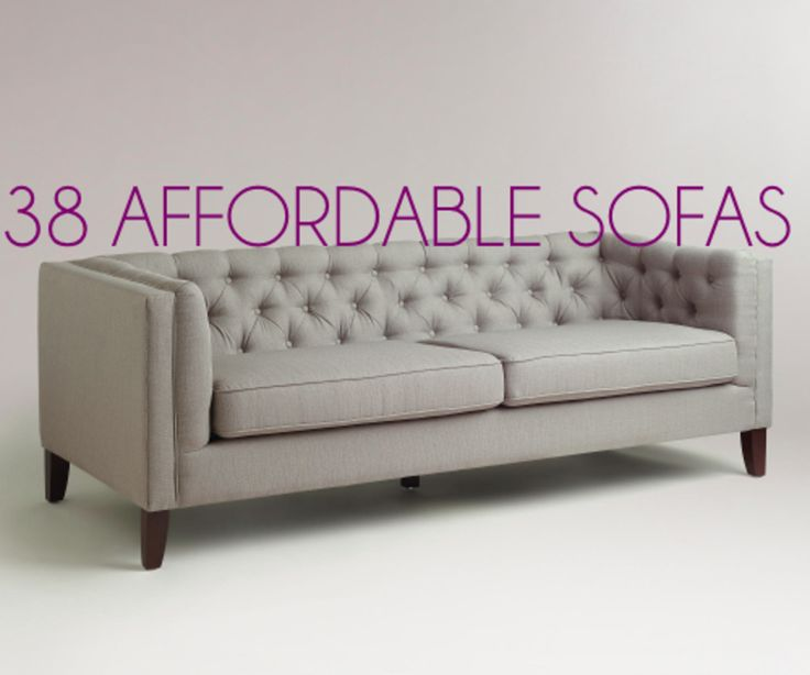 1000+ ideas about Affordable Sofas on Pinterest