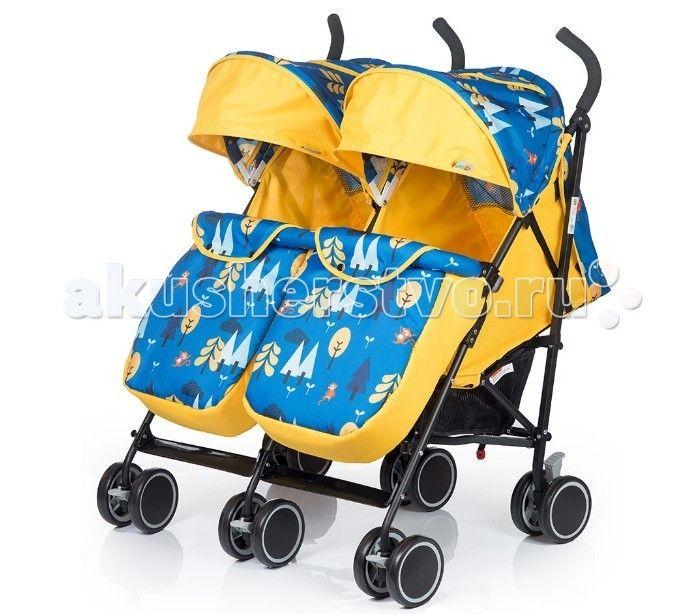 BabyHit Twicey  Коляска для двойни Baby Hit Twicey это легкая и удобная новинка 2017 года для близнецов, которые уже сидят самостоятельно.   Двухместная коляска-трость – мобильное решение проблемы прогулок и поездок с двумя малышами в теплое время года. Интересные расцветки, основанные на контрастном сочетании однотонной и узорчатой тканей, будут радовать вас не один сезон.  Особенности:  Сдвоенные передние поворотные колеса с фиксацией в положении «прямо»  Капюшон «батискаф»  Съемный…