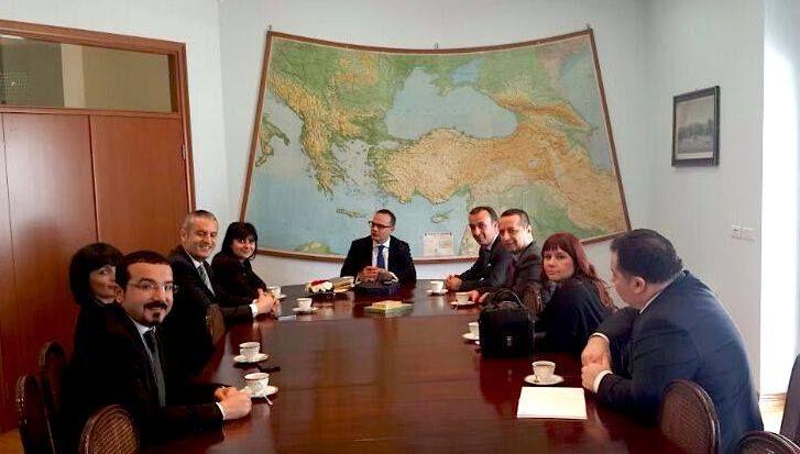 Mardan Palace Sales Co-ordinator Mr.Tarkan DUMAN has visited Mr. Mehmet Kemal BOZAY,the ambassador of Turkey in Serbia.
