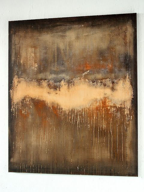 torn open surface 2017 - 120 x 100 cm Christian Hetzel