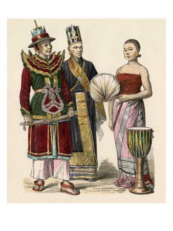 traditional burmese attire