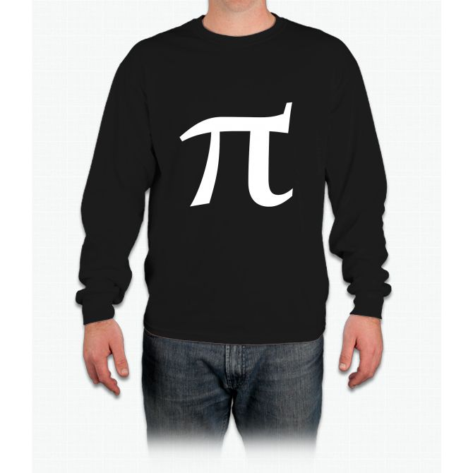 Pi Symbol For Pi Day Long Sleeve T Shirt Products Pinterest Pi