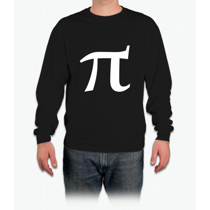 Pi symbol for pi day Long Sleeve T-Shirt
