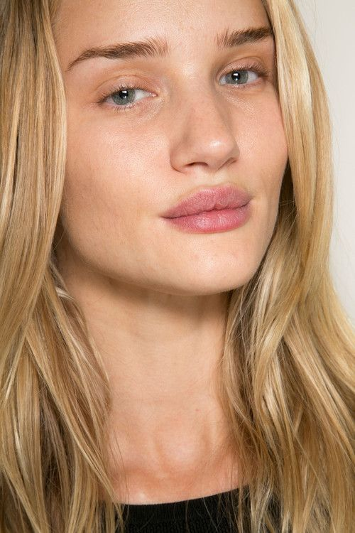 runwayandbeauty: Rosie Huntington Whiteley - Backstage...