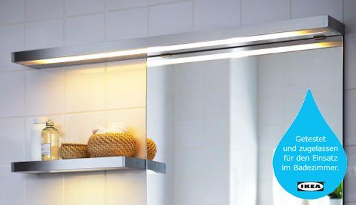 IKEA Badleuchten & Badlampen wie z. B.