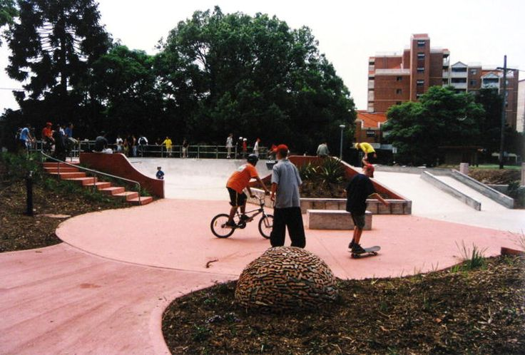 Chatswood Skate Park Opening in Chatswood Park. Australia Day, 26 January , 2001.
