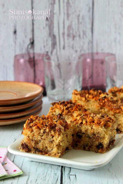Sünis kanál: Joghurtos-csokis-diós sütemény
