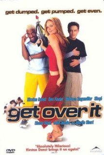 """Get Over It-  """"When Berke Landers, a popular high school basketball star, gets dumped by his life-long girlfriend, Allison, he soon begins to lose it. But with the help of his best friend Felix's sister Kelly, he follows his ex into the school's spring musical. Thus endues a love triangle loosely based upon Shakespeare's """"A Midsummer Night's Dream"""", where Berke is only to find himself getting over Allison and beginning to fall for Kelly"""""""