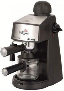 Samus Alegria – un espressor manual, cu un pret sub 200 Lei si cu un rezervor pentru apa de numai 0.24 l. Samus este o firma de care nu au