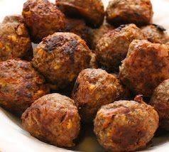 Liver Meatballs (liver is super good for leaky gut and this seems like a palatable way to eat something I find yucky!)