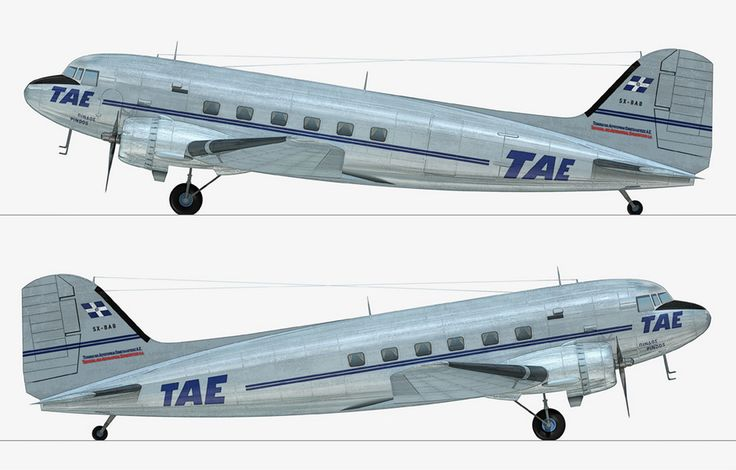 TAE-Greek National airlines Douglas C-47A-65-DL (DC-3) [SX-BAB]