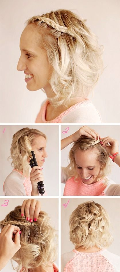 Best 25 Short hairstyles for prom ideas on Pinterest