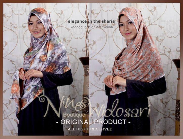 Ready stock !!! Hijab instan dari nines :) Yuk diorder IDR 135,000 PIN 5459b384