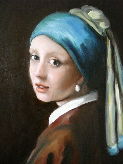 girl with a pearl earring journal Girl with a pearl earring is a quiet movie, shaken from time to time by ripples of emotional turbulence far beneath the surface it is about things not said, opportunities not taken.