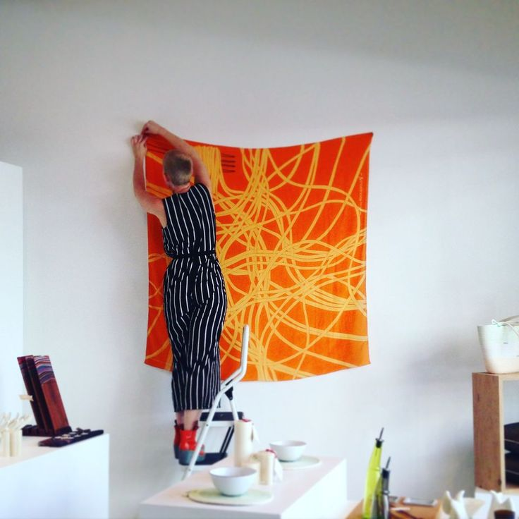 Spaghetti Sans Bolognese Silk Scarf - Shop Online - Design Studio Rock and Gold