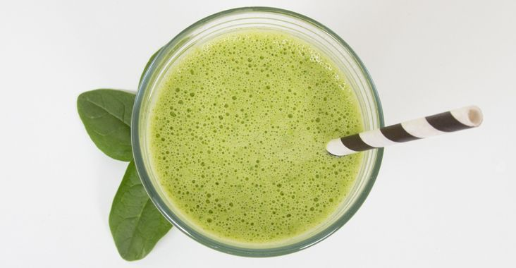 Pre- and Post-Workout Snacks Green Monster smoothie