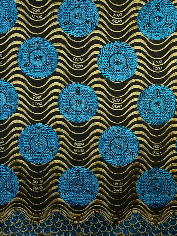 Exclusive Swiss Voile Lace African Fabric 5 by Africanpremier, $165.99