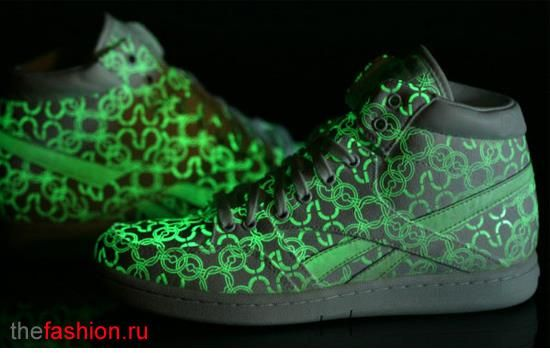 Неоновые светящиеся кроссовки nike цена