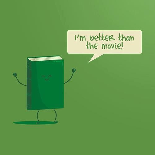 I'm better than the movie...and the tv show!