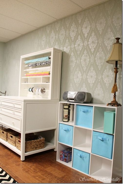 Scrapbook Room Ideas Craft Room Inspiration Pinterest