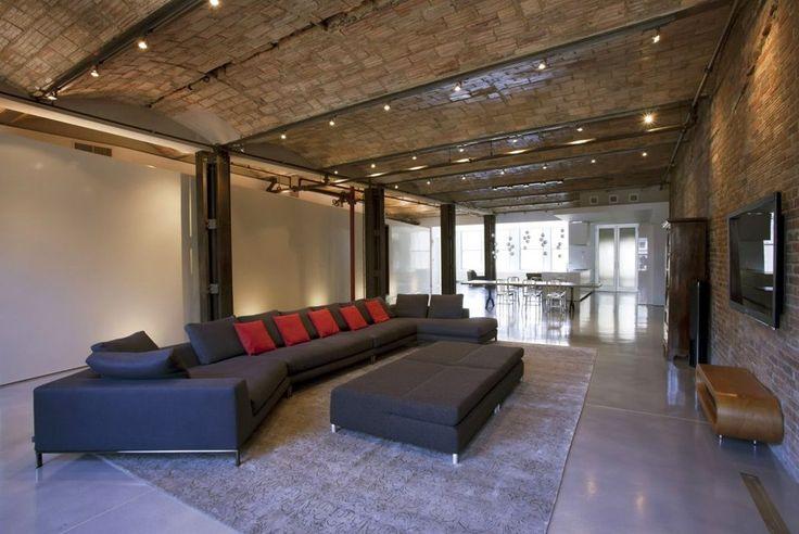 Лофт на Манхэттене, Нью-Йорк. - Дизайн интерьеров | Идеи вашего дома | Lodgers