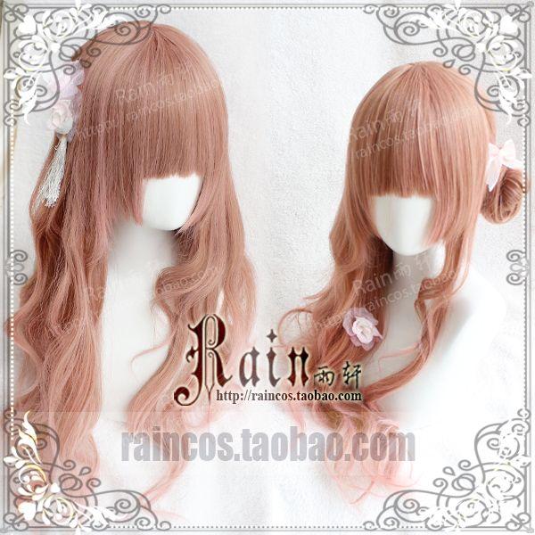 """Rain Yu Xuan"" Harajuku / lolita wig hair wig coral coral Ji gradient - Taobao global Station"