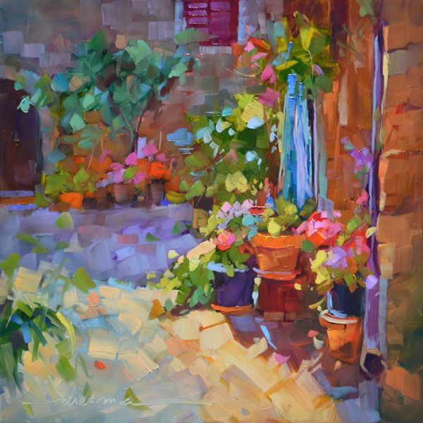 """""""Tuscany in Bloom""""  SOLD"""