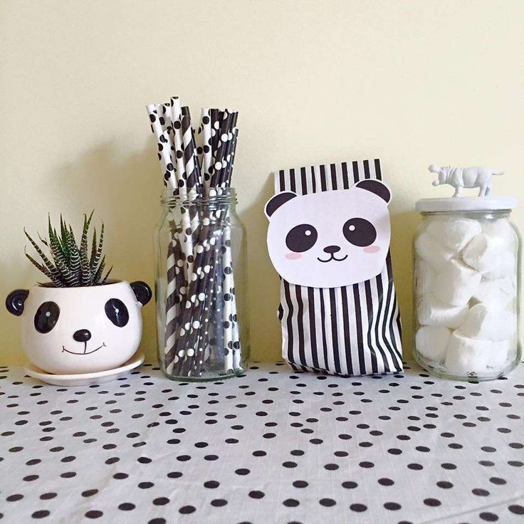 How cute is this panda birthday party! See more party ideas at CatchMyParty.com!
