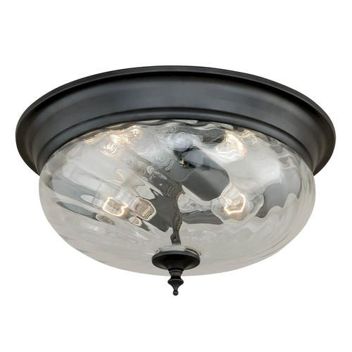 "Parra 2-light 14"" Noble Bronze Ceiling Light At Menards"