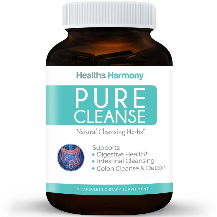 PURE CLEANSE - Best Colon Cleanse Detox for Weight Lose - Psyllium Husk Powder, Fennel Seed, Cascara Sagrada and More - Colon Health - Powerful Cleansing Herbs To Purge Toxins - 90 Capsules -- Quickly view this special  product, click the image : Detox and Cleanse