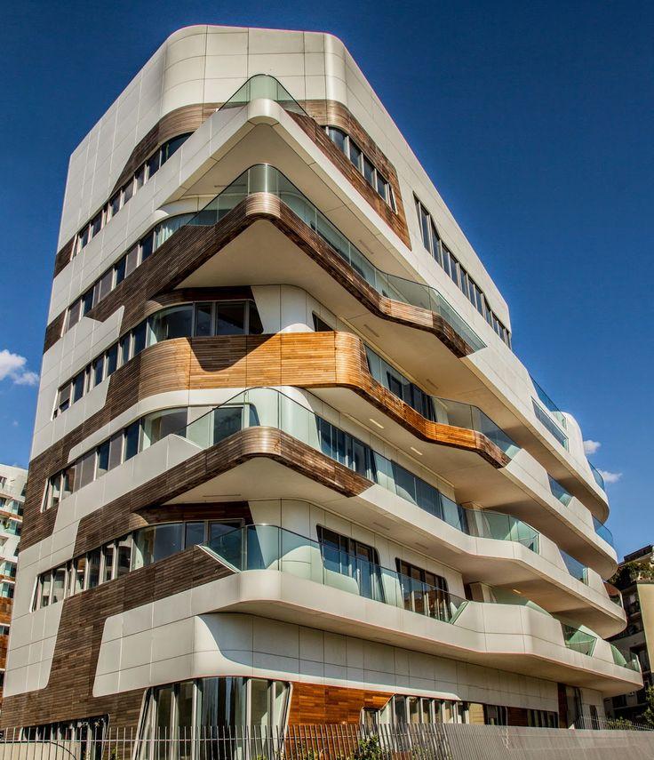 CityLife Milano Residential Complex, Fiera Milano, Milan, Italy, 2014 | Zaha Hadid Architects